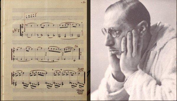 Igor Stravinsky - zeneszerző és barát