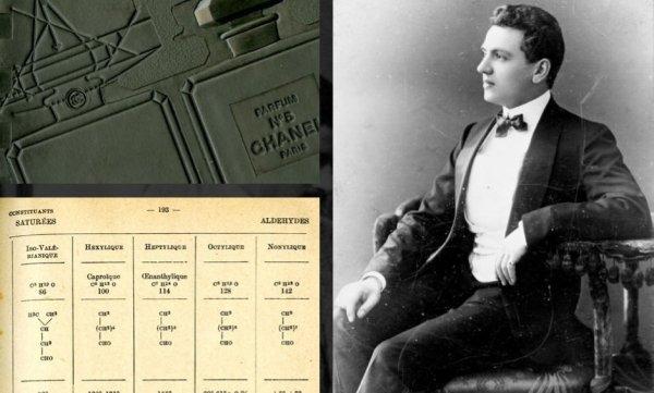 Ernest Beaux parfümőr, akivel a No. 5-t megalkotta