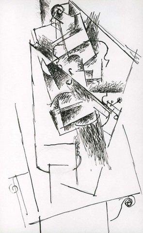 Pablo Picasso - Nature morte au violon