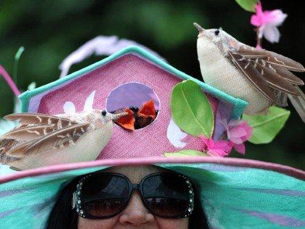 A legőrültebb kalapok az Ascoti Derbiről  3fa287ea72