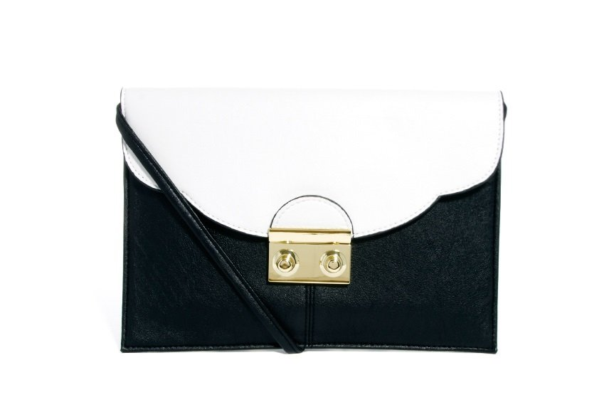 7e9f413ca4 Fekete-fehér clutch – ASOS – 16,17€ 9,43€