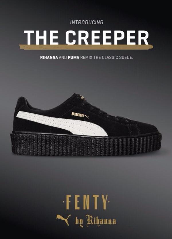 b5009efd8791 Rihanna megmutatta az első általa tervezett cipőt   Kis Fekete